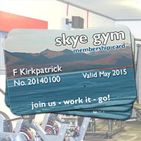 Gym Membership - weekly, monthly or annual. Day passes available.