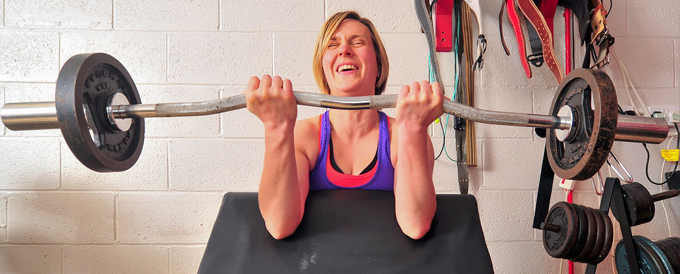 Weight-lifting for women
